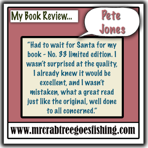 Pete Jones  |  My Book review
